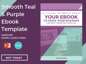 Mint & Purple Ebook Template