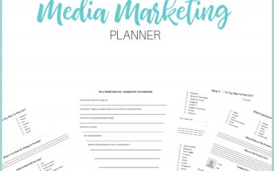 Successful Social Media Marketing Planner
