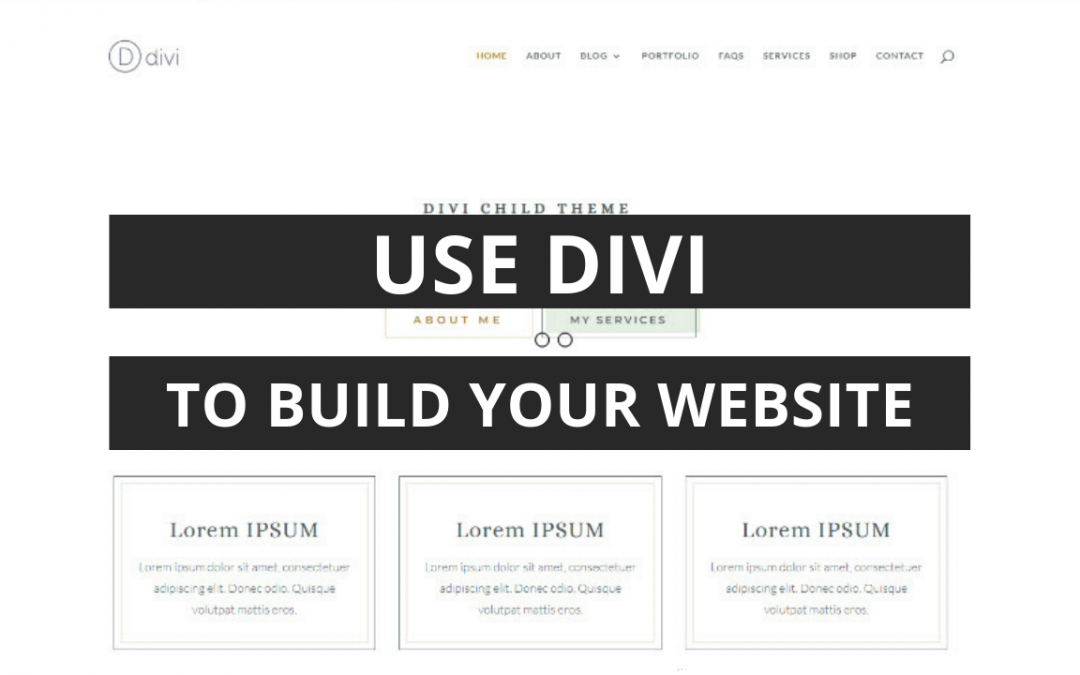 Need a Website Quickly? Use Divi's New Front End Builder