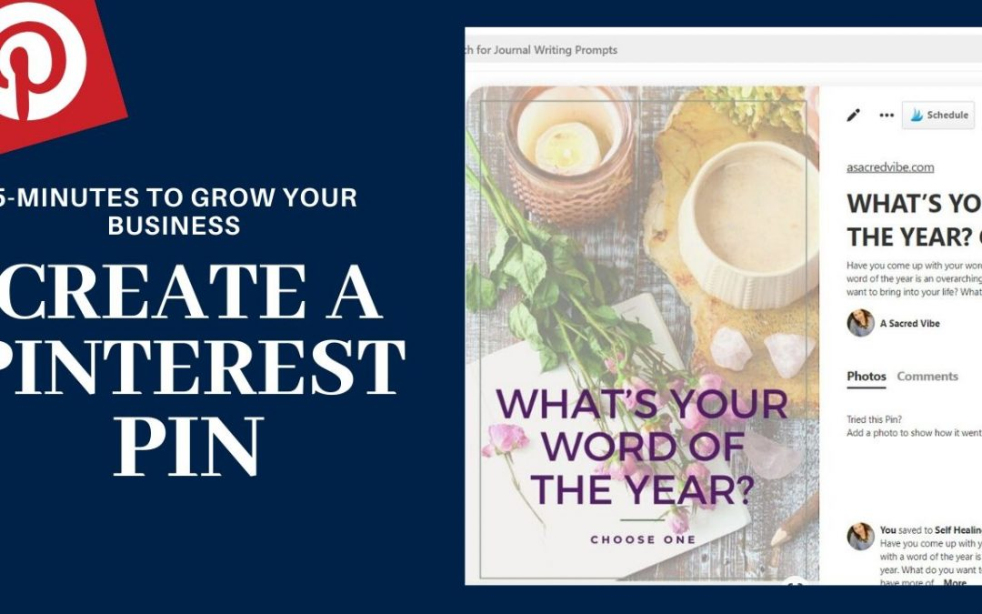 Have 5 Minutes? Use This Pinterest Pin to Grow Your Business