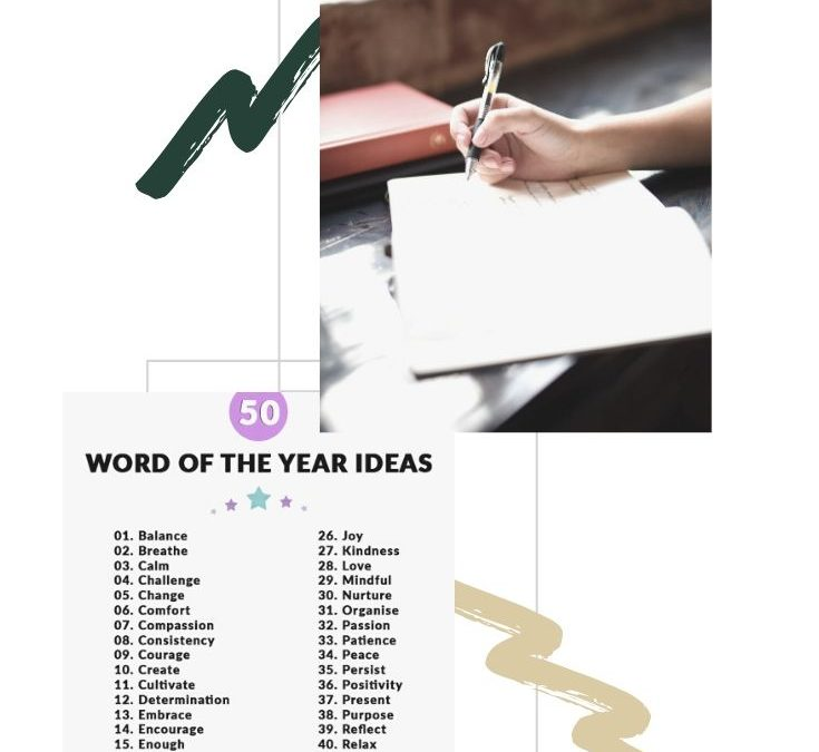 Choose Your Word of the Year