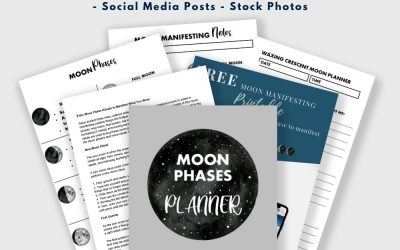 DFY Content – Manifesting with the Moon