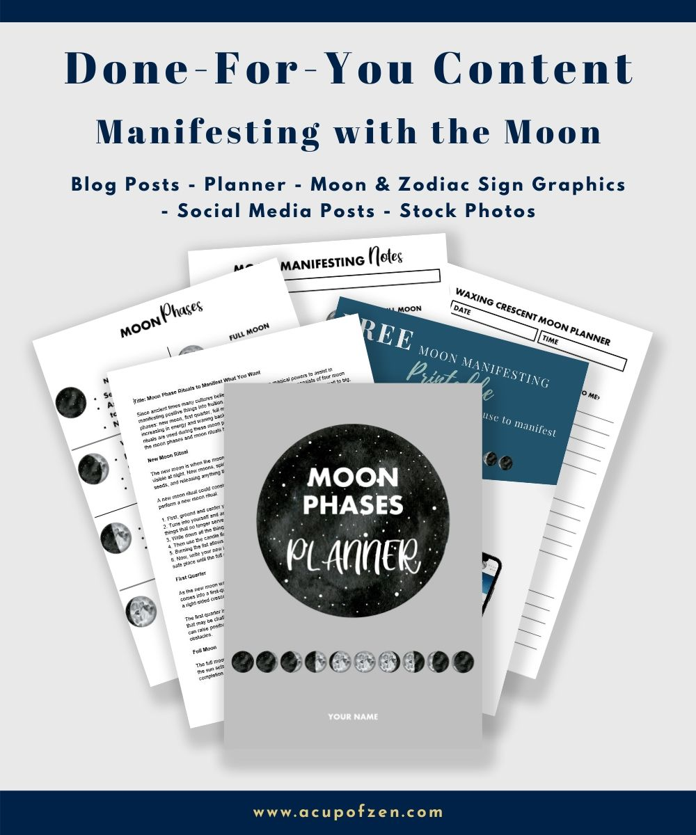 manifesting with the moon kit