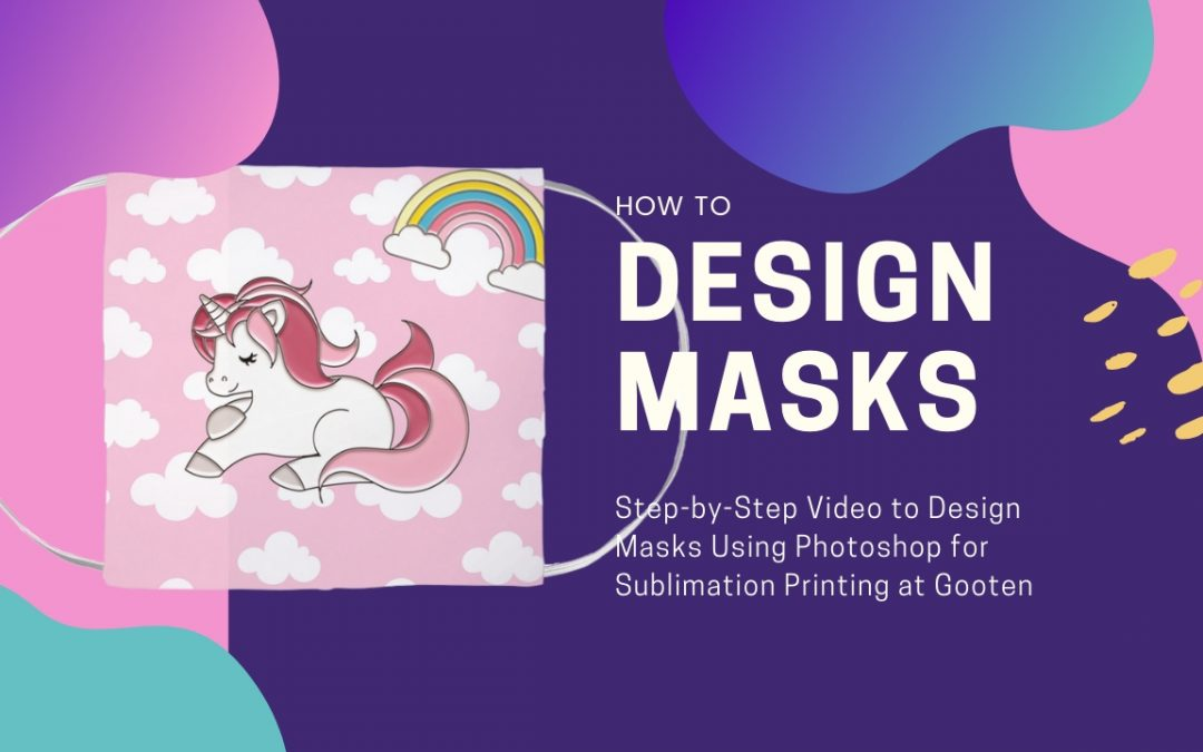 How to Create Face Masks Tutorial Using Photoshop & Print with Gooten