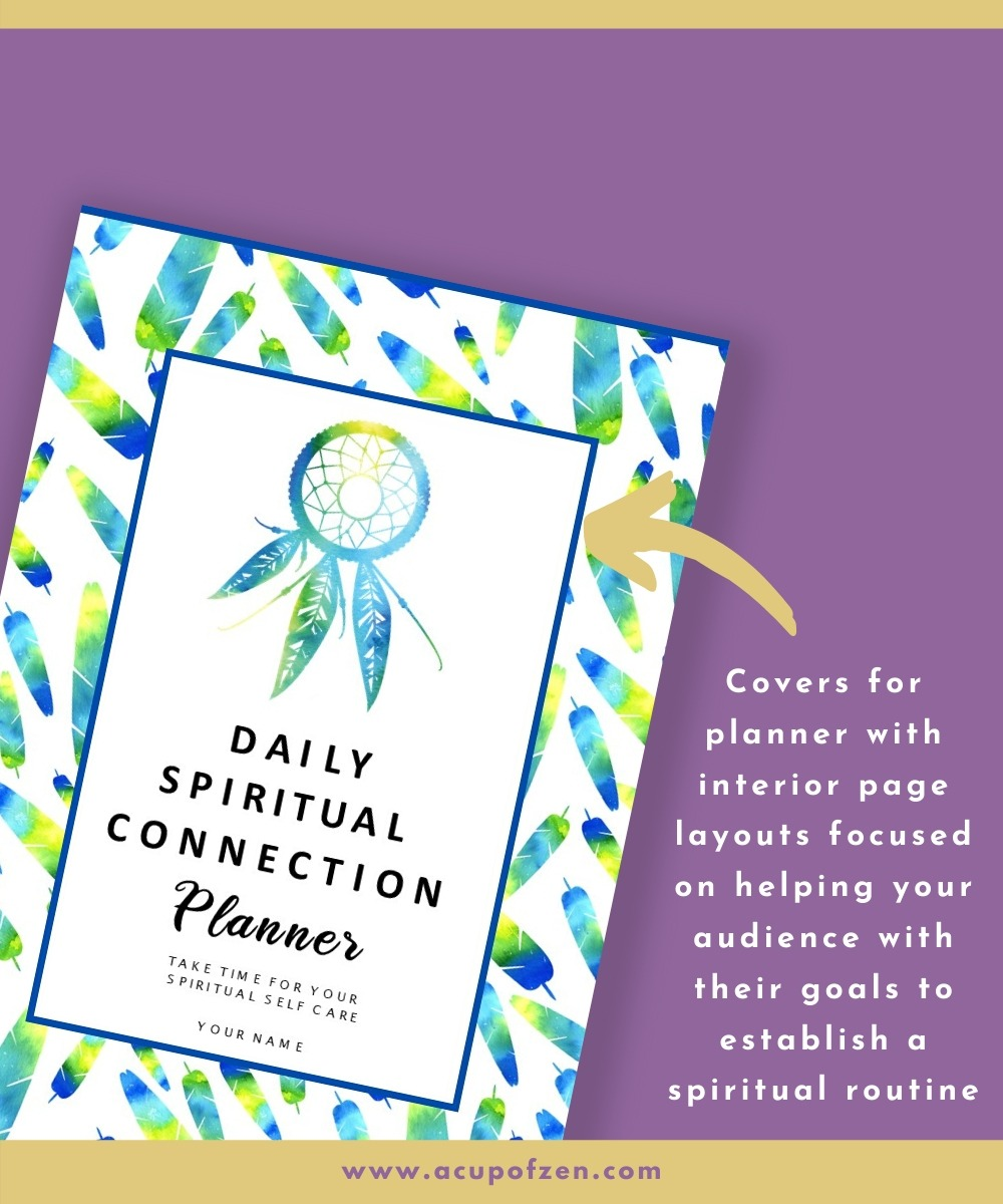 spiritual connection daily planner meditation