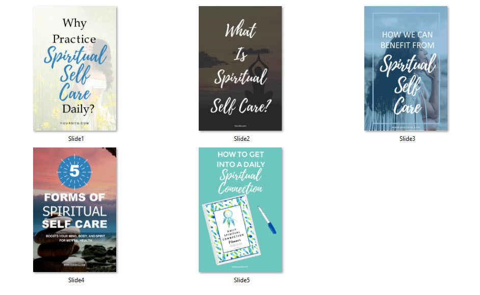 spiritual pinterest templates canva powerpoint