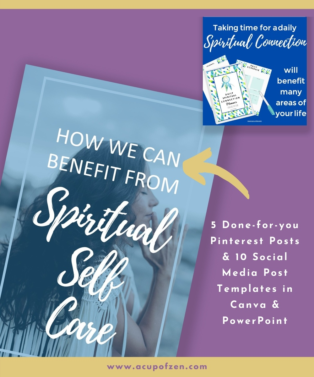 spiritual self care social media templates