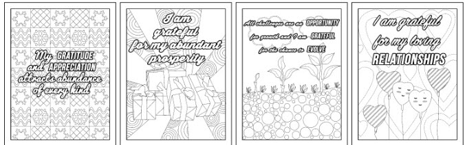 amazing affirmations coloring ages commercial use