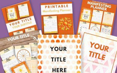DFYTemplates – Covers, Pinterest, Social Media, Etsy 2 – Main Shop Page