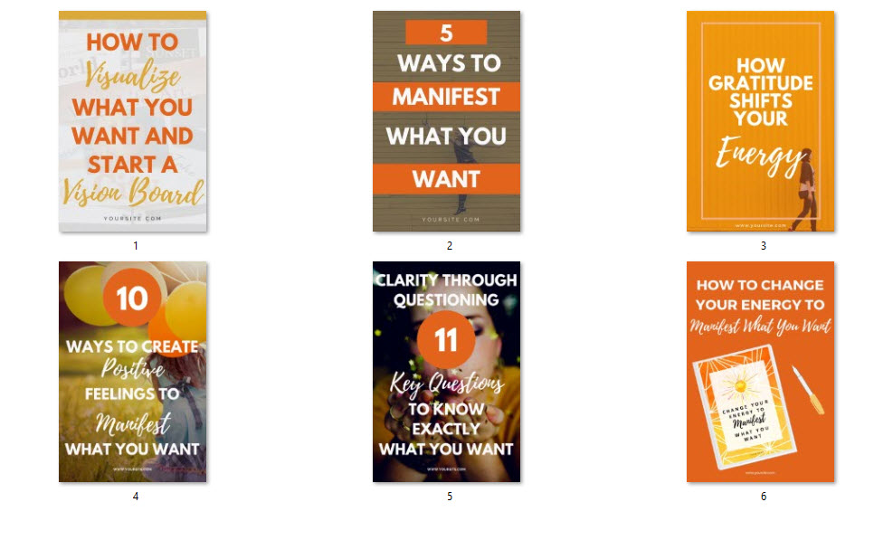 pinterest templates canva powerpoint spiritual