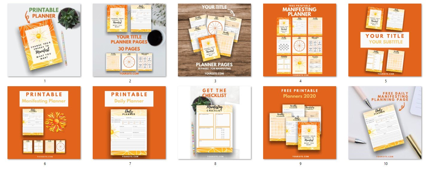 social media templates in canva and powerpoint