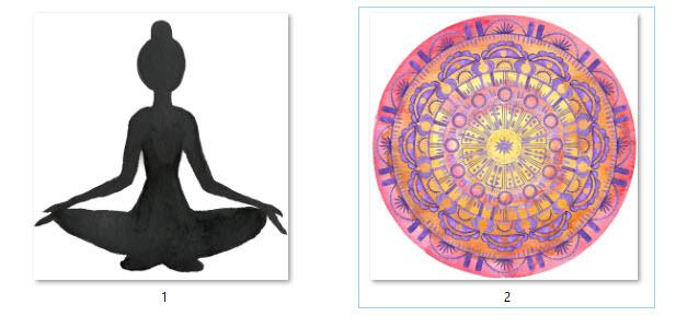 1 self love compassion watercolor lady graphics