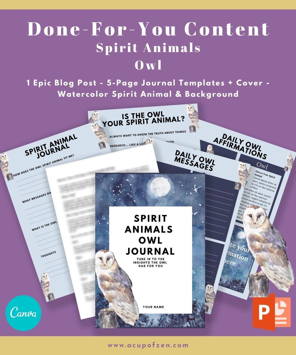 Owl as a Spirit Animal