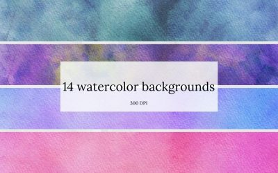 Watercolor Background Graphics