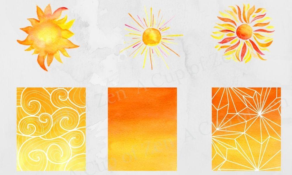 Manifesting Energy Watercolor Graphics