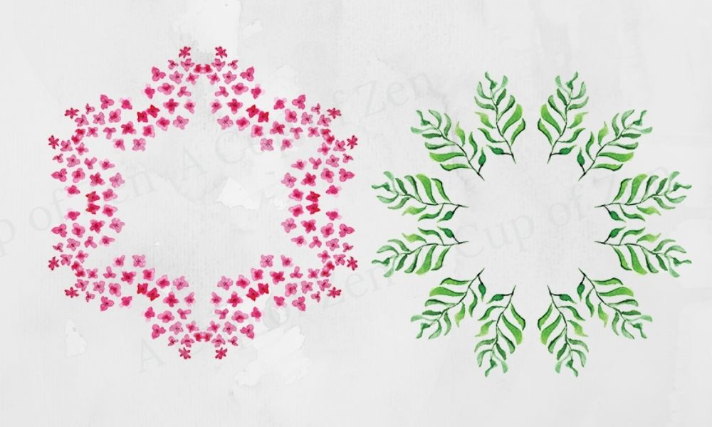 wreaths watercolor graphics clip art