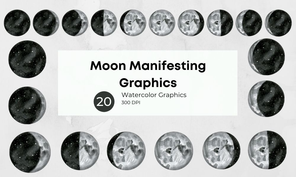 Moon Manifesting Graphics