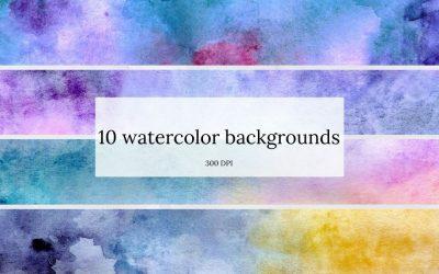 Watercolor Backgrounds II