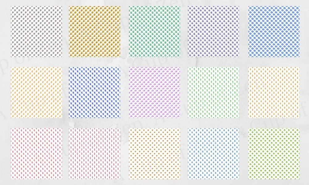 Crystal Watercolor Patterns