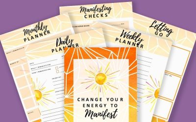 Manifest What You Want Daily, Weekly, Monthly Planner