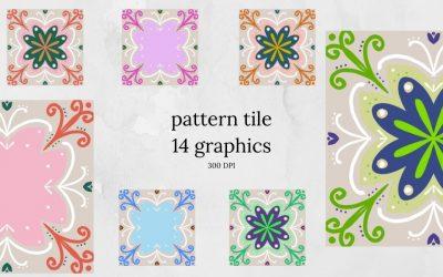 Pattern Tile Graphics
