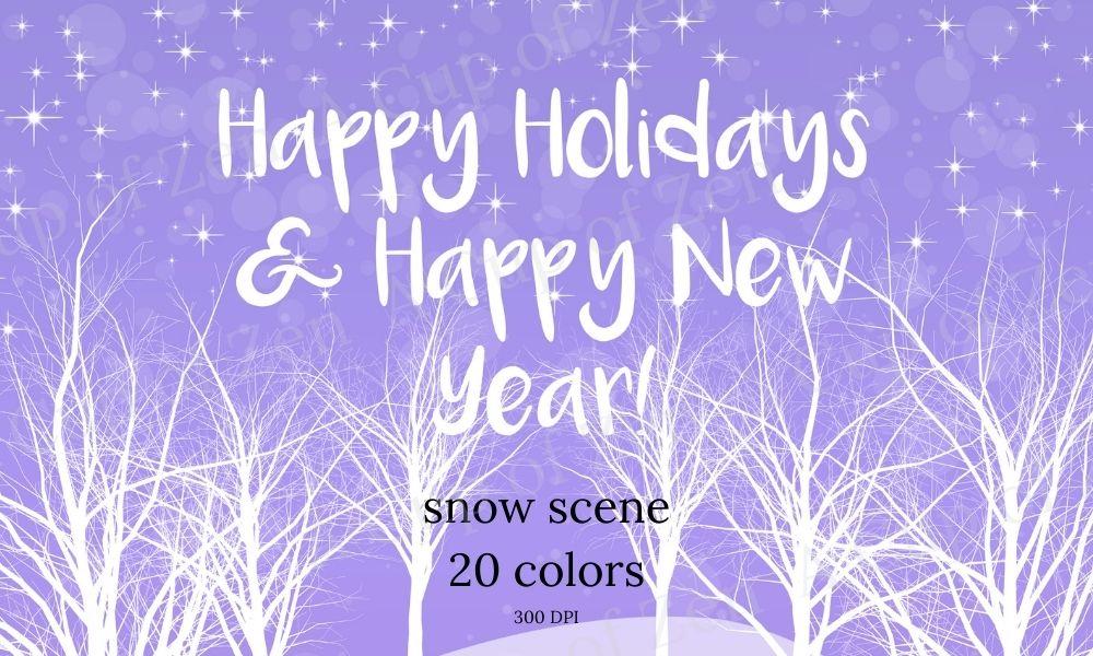 Snow Scene Graphics & Gif