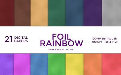 Foil Rainbow Digital Paper