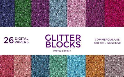 Glitter Blocks