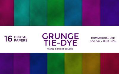Grunge Tie-Dye Digital Paper
