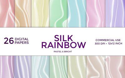Silk Rainbow Digital Paper
