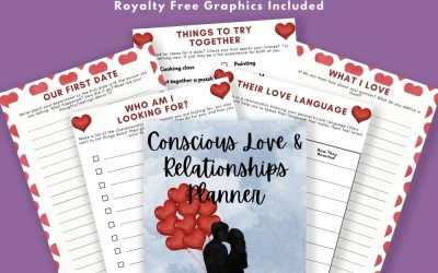 Conscious Love & Relationships Planner and Journal