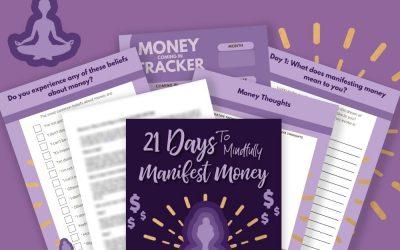 21 Days to Manifest Money Journal