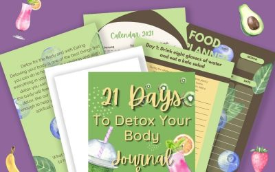 21 Days to Detox Your Body Journal and Mini Planner