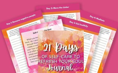 21 Days of Self Care to Refresh Your Soul Journal