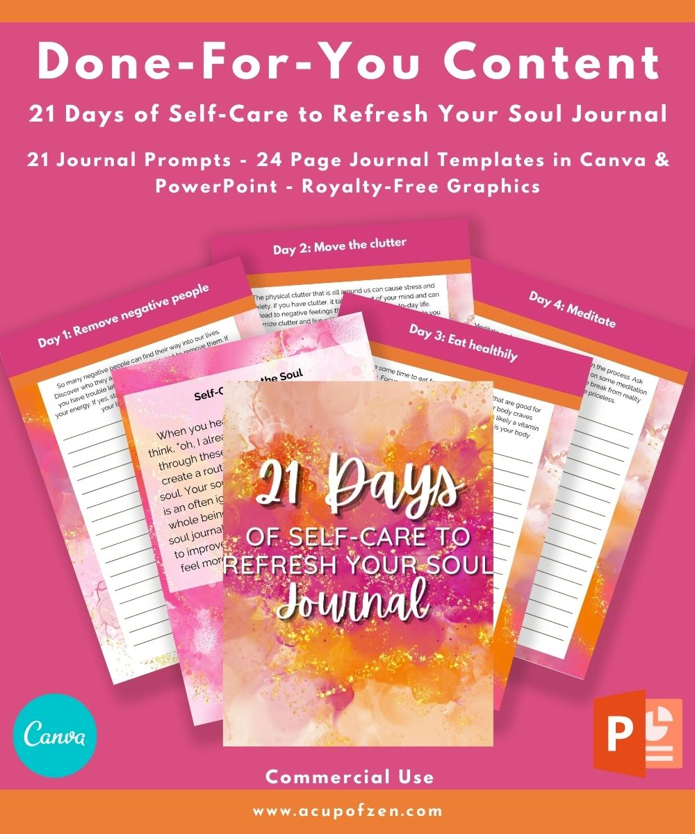 21 Days to Detox Your Body Journal
