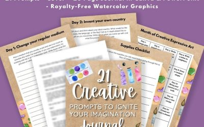 21 Creative Prompts to Ignite Your Imagination Journal