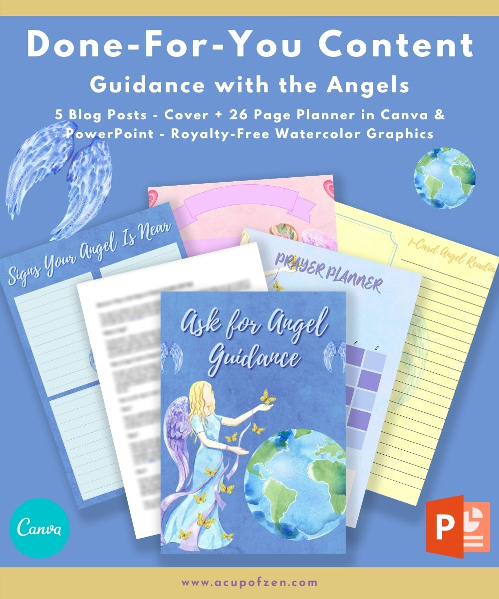 Guidance with the Angels Journal and Planner