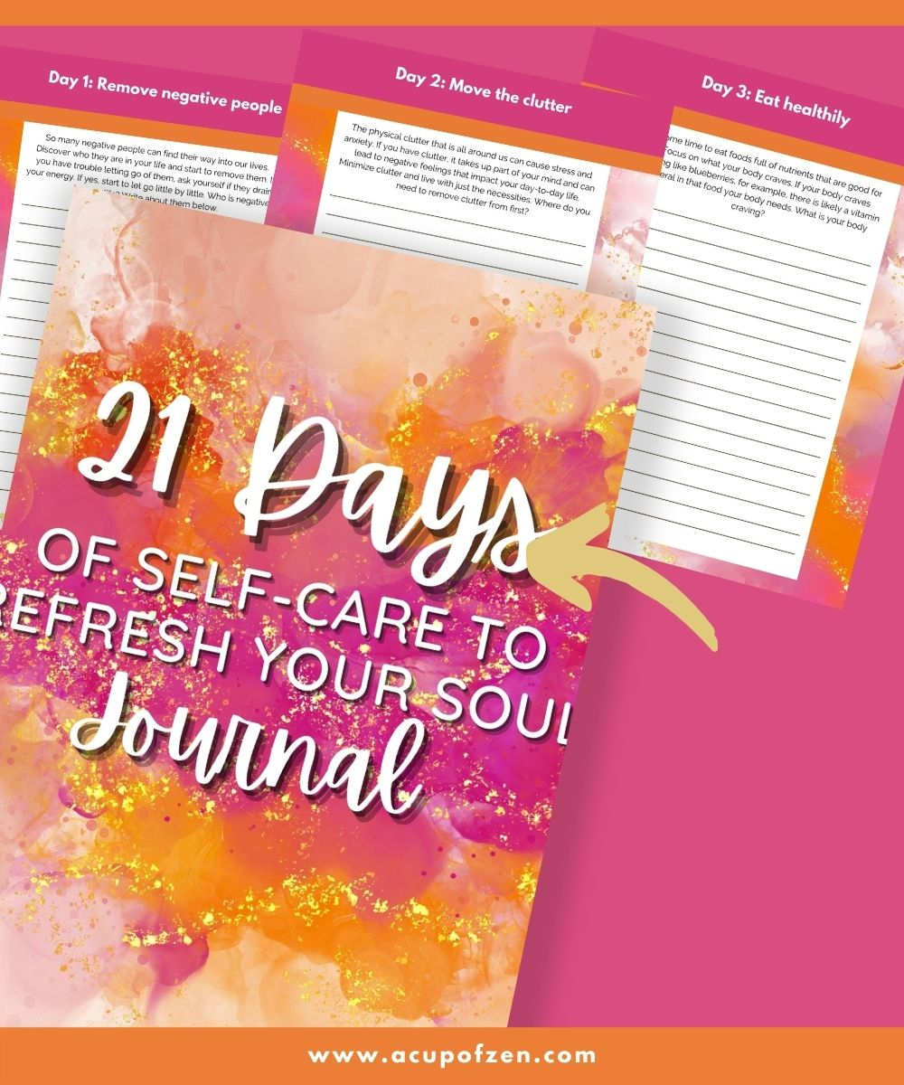Detox Your Body Journal Prompts