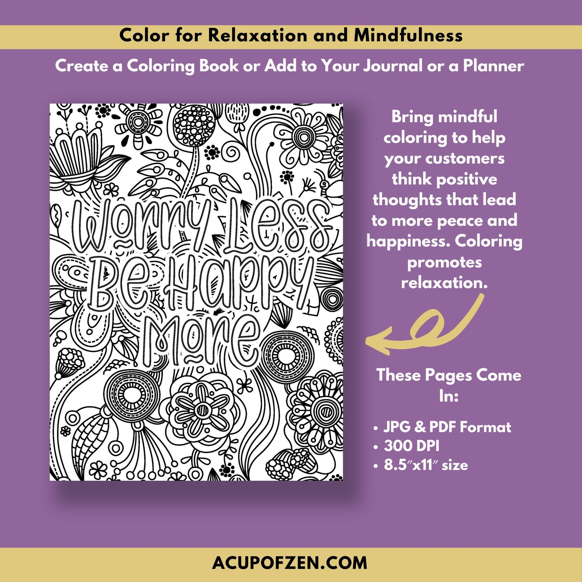 Happiness Coloring Pages Commercial Use