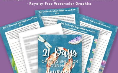 21 Days of Feng Shui for Your Home Journal