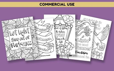 Light Quotes Coloring Pages