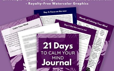 21 Days to Calm Your Mind Journal