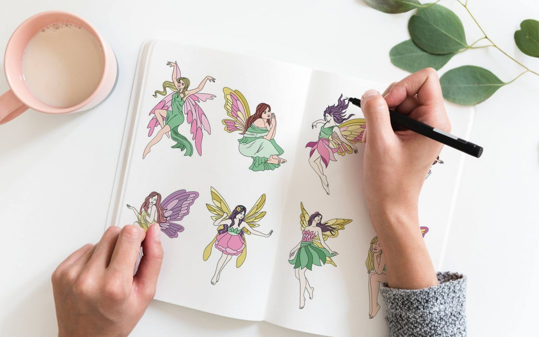 Bonuses for Fairy Coloring Pages