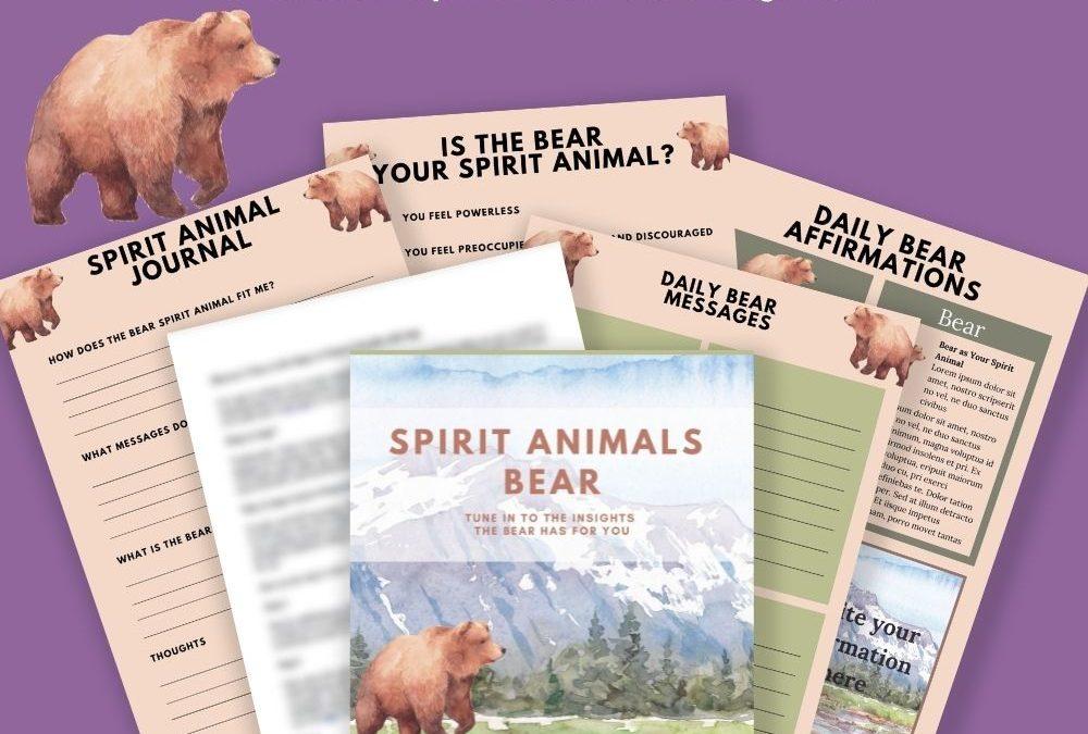 Spirit Animals – Bear