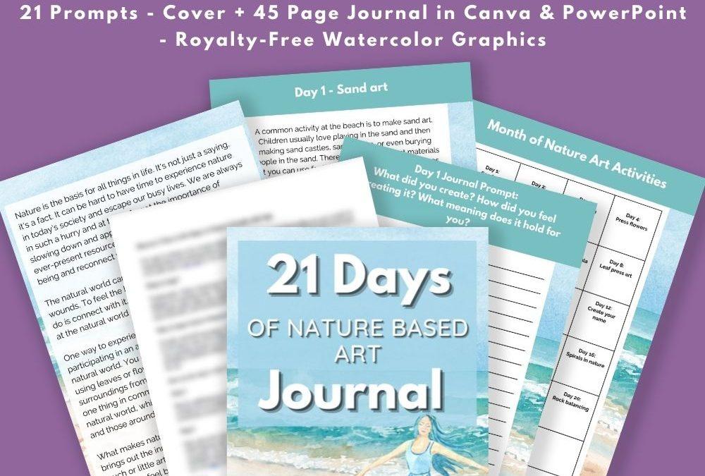 21 Days of Nature Based Art Journal