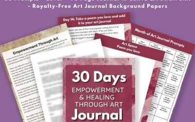 30 Days Empowerment Healing Art Journal