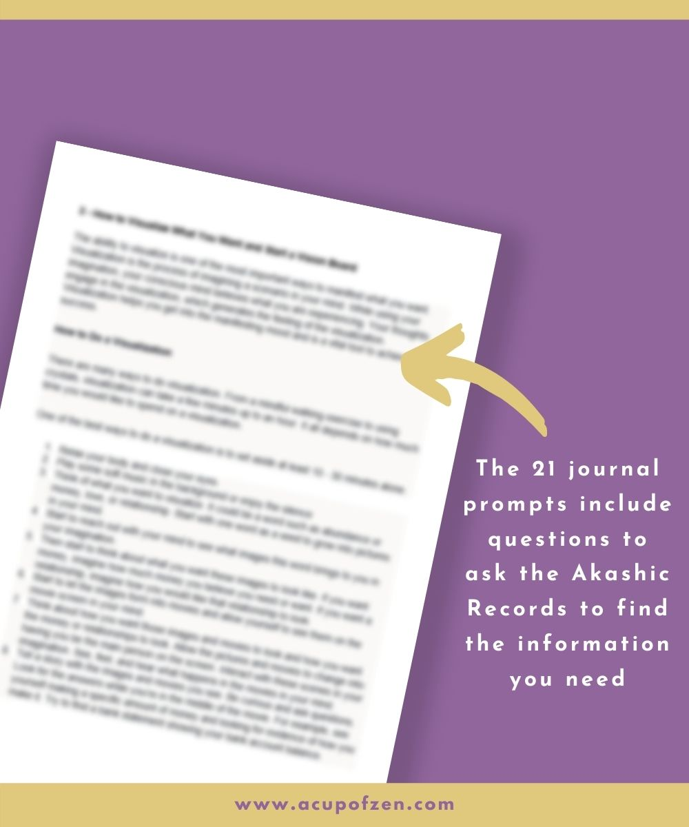 Akashic Records Questions Journal Commercial Use