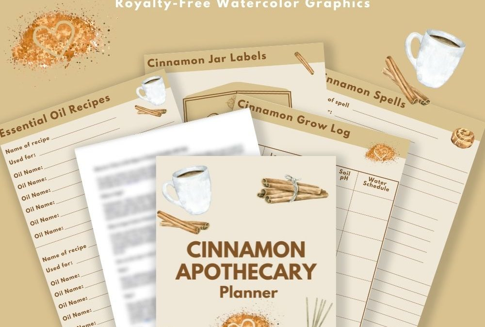 Cinnamon Apothecary DFY Content & Planner