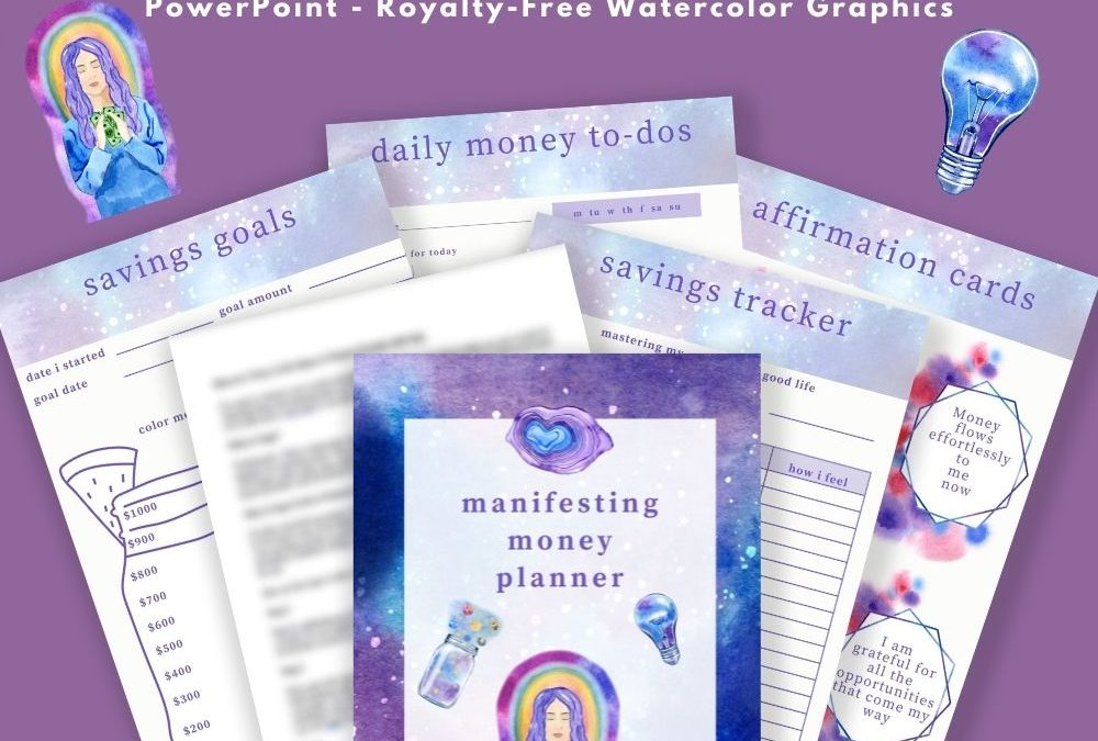Manifesting Money DFY Content and Planner