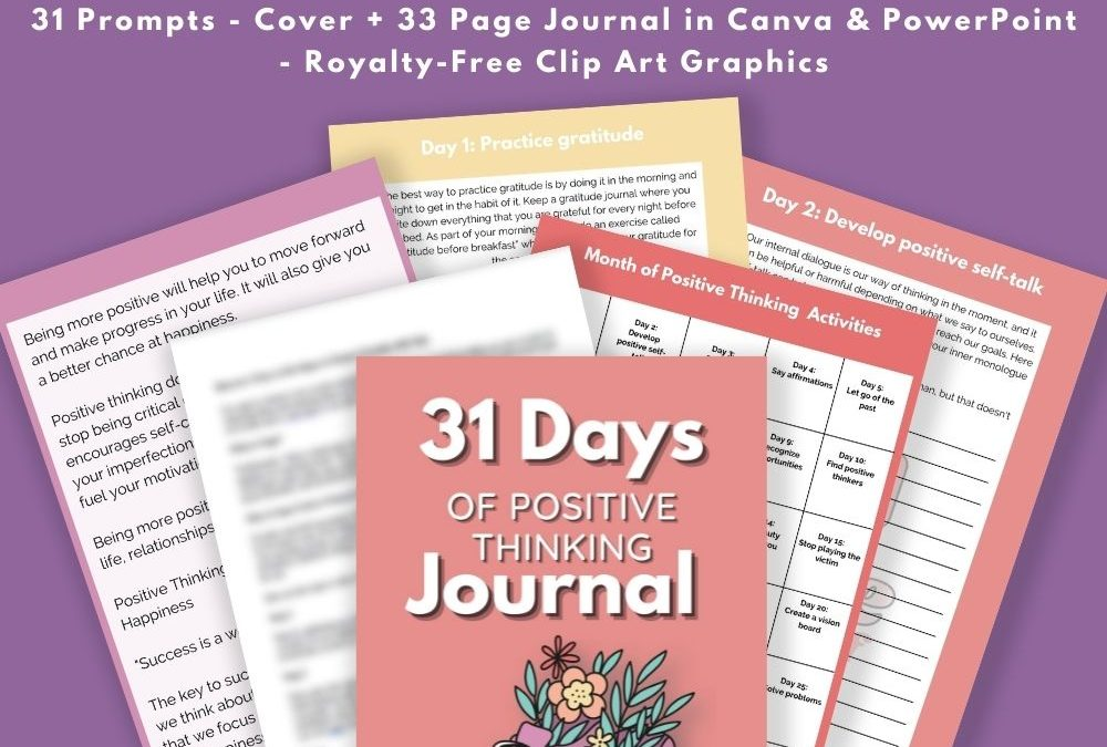 Positive Thinking Journal